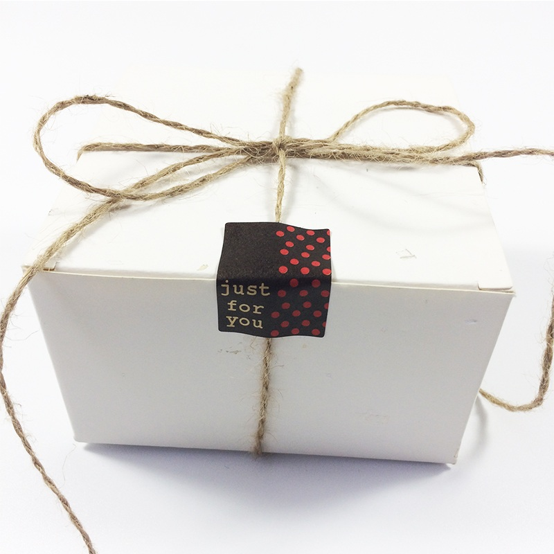 "Купить с кэшбэком 130pcs/lot  Vintage ""just for you"" series Seal Sticker Kraft Paper stickers DIY Multifunction gift sealing label"