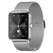SW50สมาร์ทนาฬิกาข้อมือโทรศัพท์อัจฉริยะนาฬิกาที่มีช่องเสียบซิมGSM NFC Pedometerอยู่ประจำที่เตือนข้อความสนับสนุนอย่างเต็มที่Android