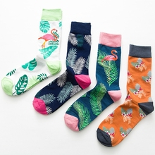 2019 New Brand Style Street Fashion Weed Cool Socks Mens Skateboard Funny Happy Dress Skate Cotton Long Size:EUR41-46 Lot