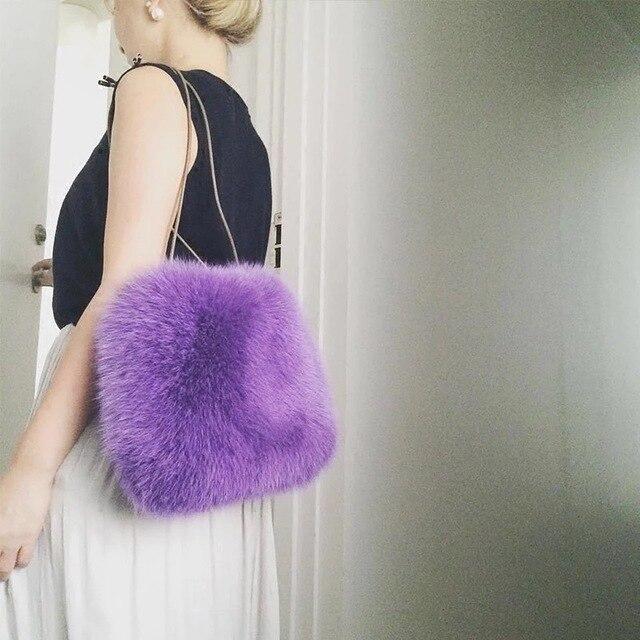Зимние Роскошные сумки-мессенджеры модные женские сумки из искусственного меха для дам с клапаном женская сумка Bolsas Feminina