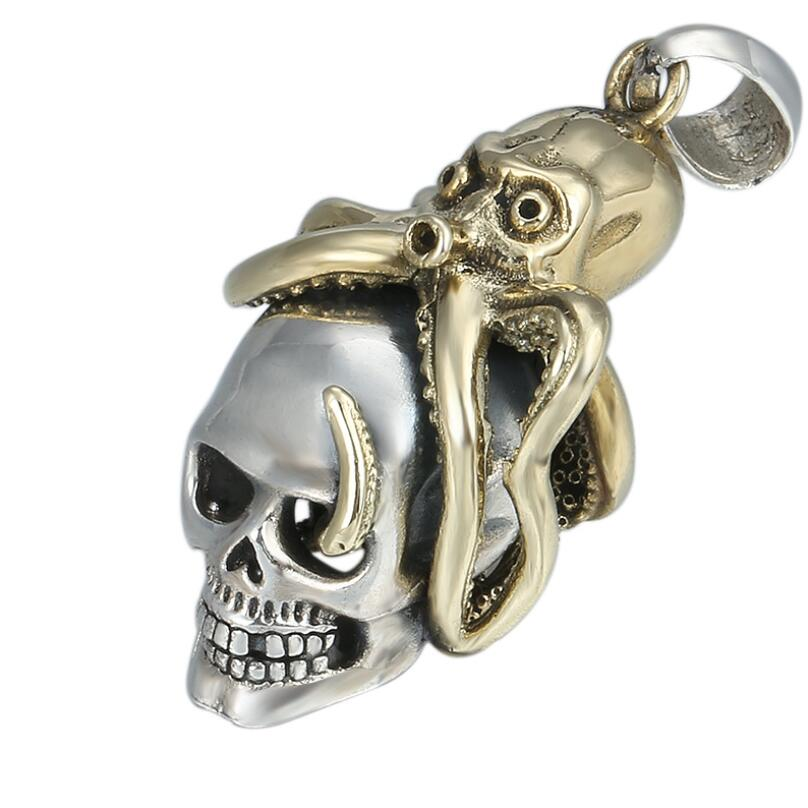 Octopus  Pendant    ! Brand  New !! 925 Sterling Silver