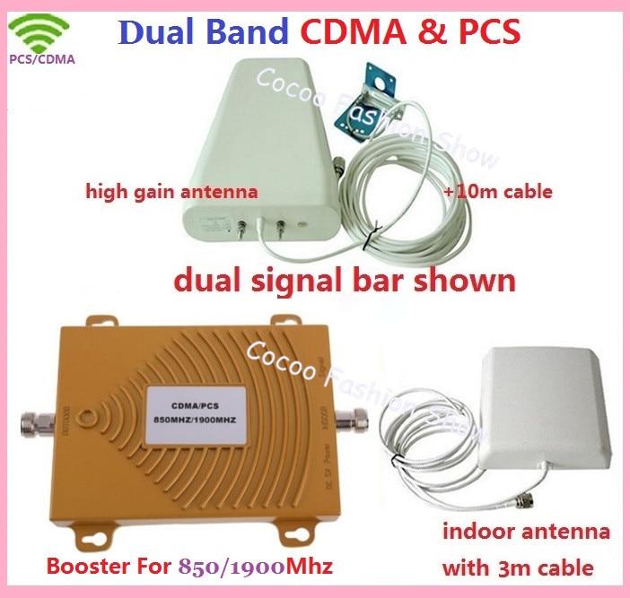 Full Set CDMA GSM 850MHZ PCS 1900MHZ Repeater Dual Band CDMA Cellular 2G 3G Mobile Phone Signal Booster Amplifier GSM AntennaFull Set CDMA GSM 850MHZ PCS 1900MHZ Repeater Dual Band CDMA Cellular 2G 3G Mobile Phone Signal Booster Amplifier GSM Antenna