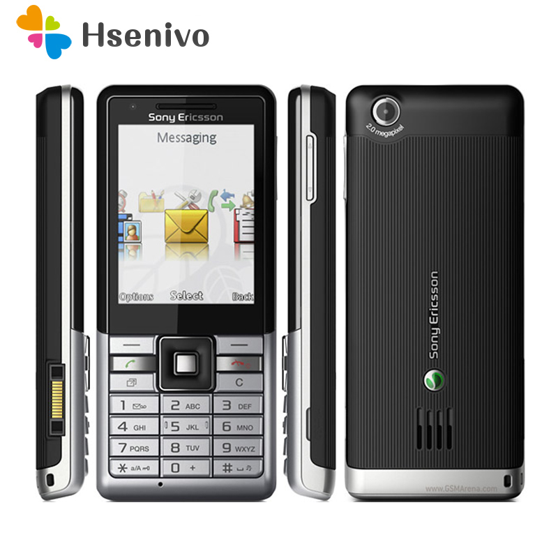 J105 100% Original Unlocked Sony Ericsson J105i Naite Mobile Phone 3G 2.0MP Bluetooth FM Radio Unlocked Cell Phone Free Shipping