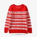 BTS BANGTANG BOYS Sweater DNA Suga Same Style Loved Pullover Kpop Men Women Student Lovers Harajuku Winter Sweaters