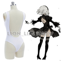 Game NieR Automata 2B Sexy Uniforms Underwear YoRHa No 2 Type B Cosplay Costume