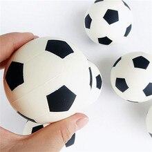 Антистрессовые мини мягкие медленно поднимающиеся Jumbos Kawaii игрушки для детей Детские сжимаемые игрушки антистресс для взрослых Футбол сжимаемая игрушка