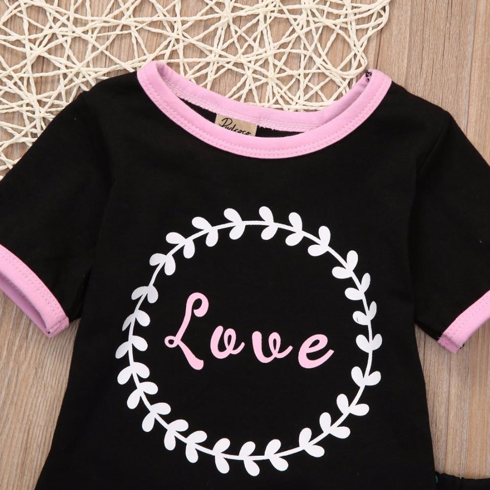 14e90c597598 3pcs 2017 toddler children clothes infant Children Kids Baby Girls T ...