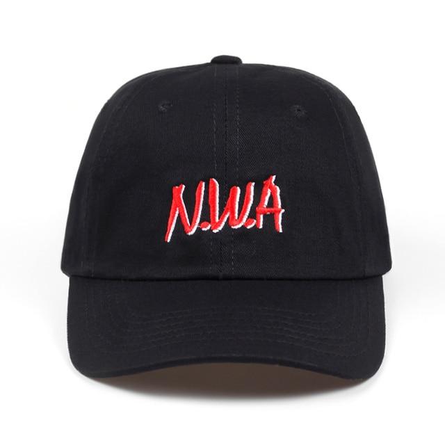2018 Newest N.W.A Letter dad hat Men Women Baseball Cap NWA Cap Hat Compton  Niggaz Hip Hop Hats Fashion adjustable golf cap hats adeb90bfa2e6