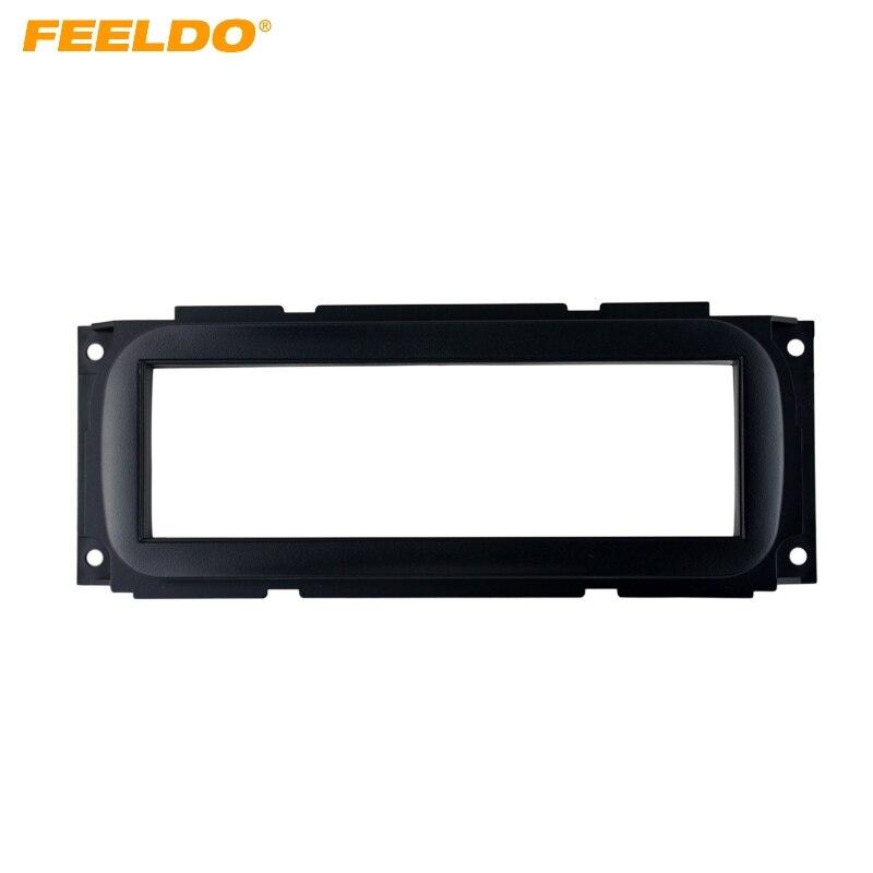 FEELDO 1DIN Car Refitting Stereo DVD Frame Fascia Dash Panel Installation Kits For Jeep Grand Cherokee(1999-2004)(WJ) #AM1663