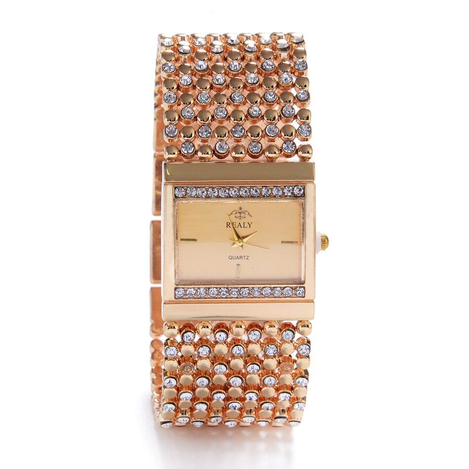 3b435077d7e Pulseira Relógios das Mulheres Pulseira de Relógios Luxo em Aço Última