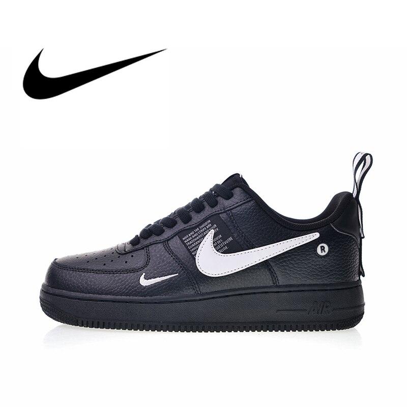 Original auténtico Nike Air Force 1 07 LV8 zapatos de skateboard para hombre zapatillas de deporte de diseño duradero ligero 2019 nuevo AJ7747-001