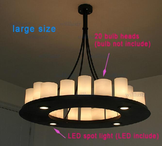 Modern Pendant lamp LED candle chandelier Kevin Reilly hemel math ...