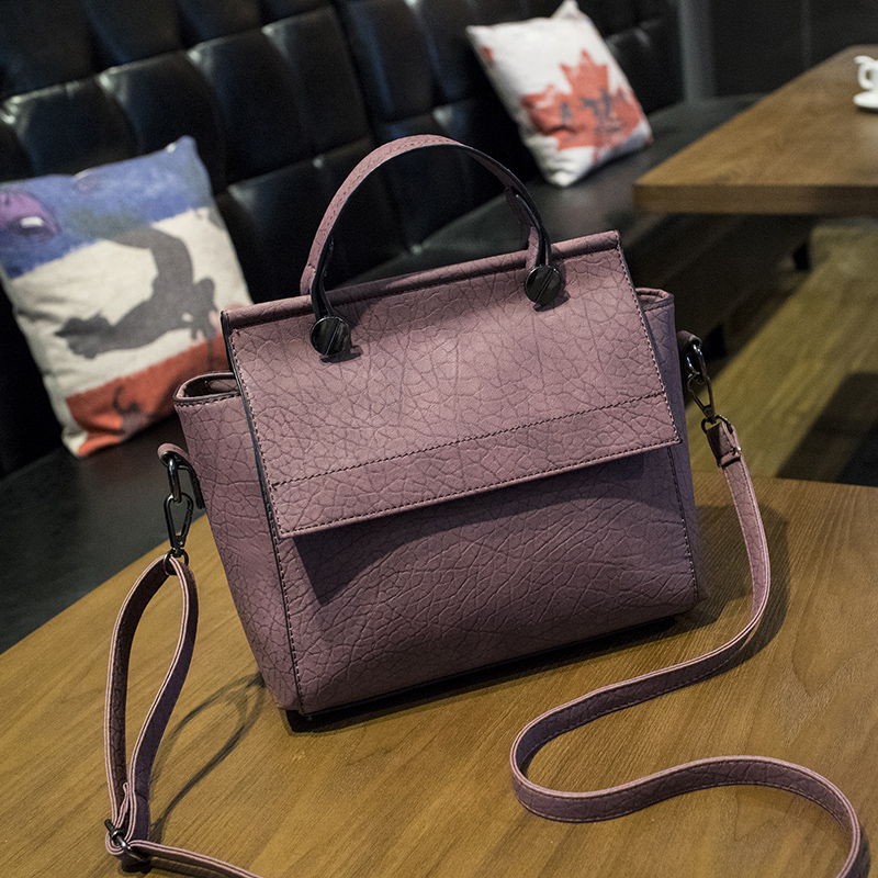 New Arrival Vintage Trapeze Tote Women Leather Handbags Ladies Party Shoulder Bags Fashion Top-Handle Bags
