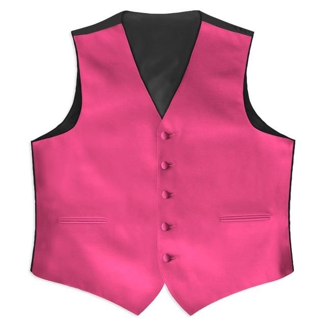 Aliexpress Buy Mens Satin Vest Waistcoats Wedding For Men