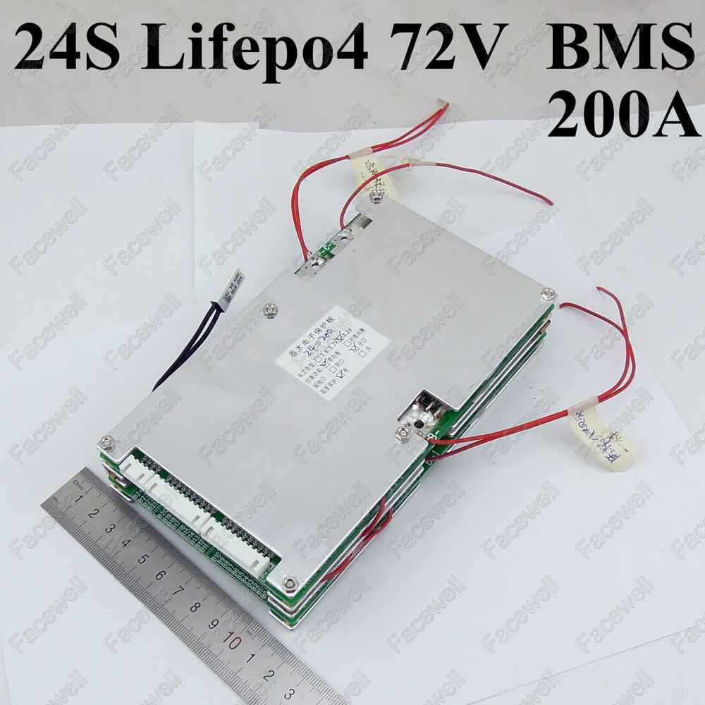 1pcs 20s Bms 72v Lithium Battery Pack 80a 200a 120a 150a 100a Wiring Diagram High Quality 24s Lifepo4 Large Current Smart Protection Board Circuit