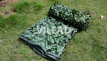 4M*5M  green digital camouflage netting jungle camo net camo tarp army tarp camping sun shade hunting shelter camo mesh net 3d oxford jungle camouflage net 1 5x3m camo netting for camping and hunting hidden or sun shelter or car covers free shipping