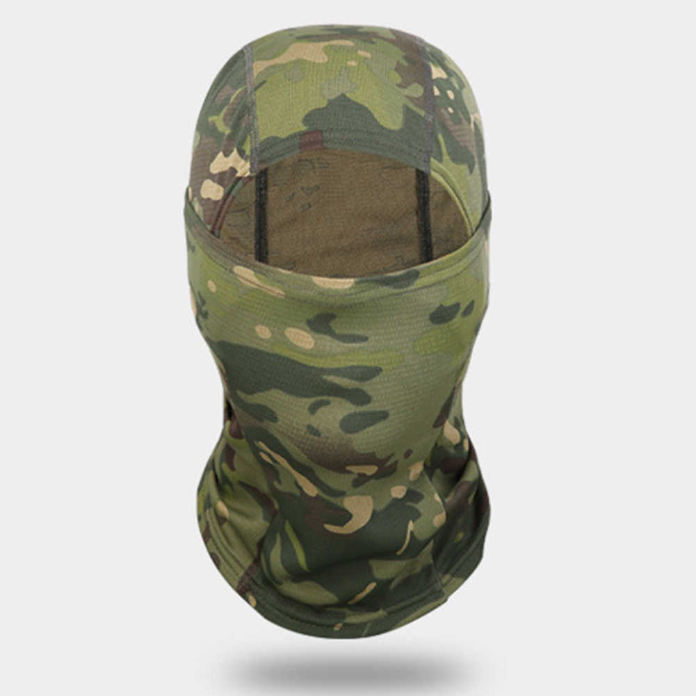 Anti-Fear Riding Mask Camouflage Full Face Headband Mask Sand Turban Bicycle Hunting Army Sport Military Helmet Liner