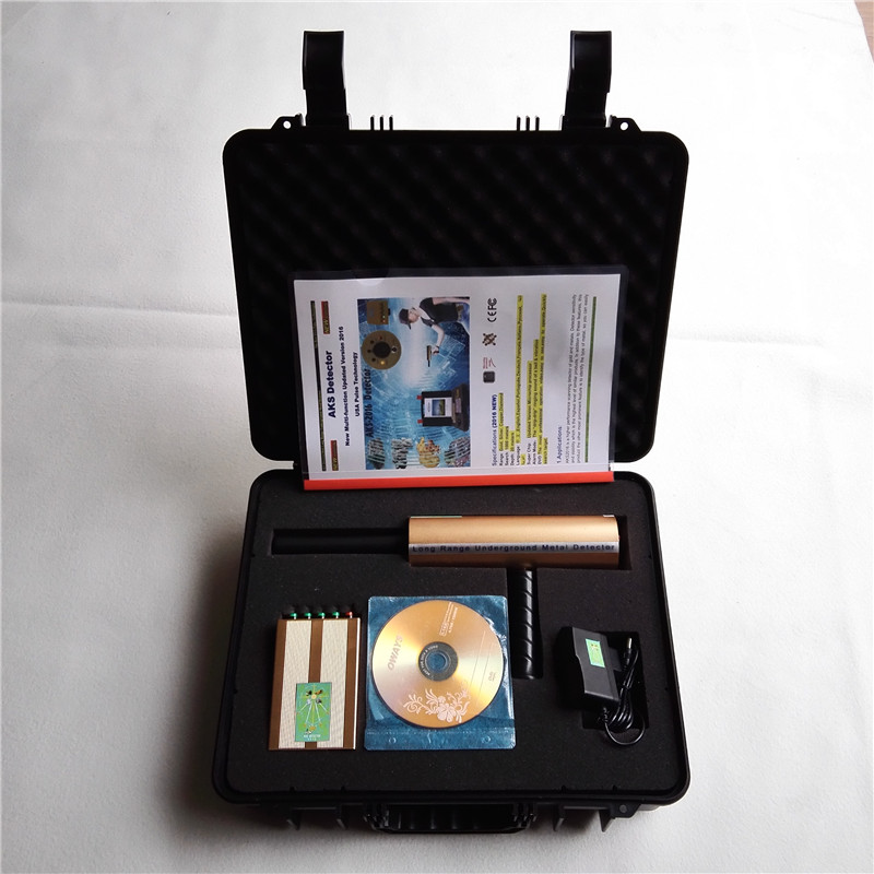 2016 New Arrival Long Range Copper,Silver,Gold and Diamond 3D Metal Scanner Locator AKS Portable Probe aks long range underground gold detector deep search locator aks