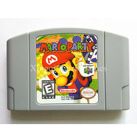 Nintendo 64 Game Mario Party Video Game Cartridge Console Card English Language US Version