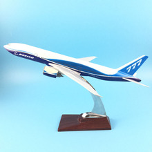 Фотография 1:200 Boeing LIVERY 777 B777 31CM METAL ALLOY MODEL PLANE  AIRCRAFT Model Toys Model w Stand New Year/Birthday/Collections Gifts