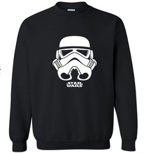New Men's long sleeve Star Wars T shirt Slim skateboard Street Cotton Top Casual Hooded sweater