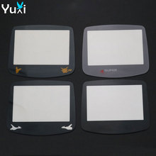 YuXi Plastic / Glass Lens For Gamboy Advance GBA consoles Screen Protector Cover W/ Adhensive