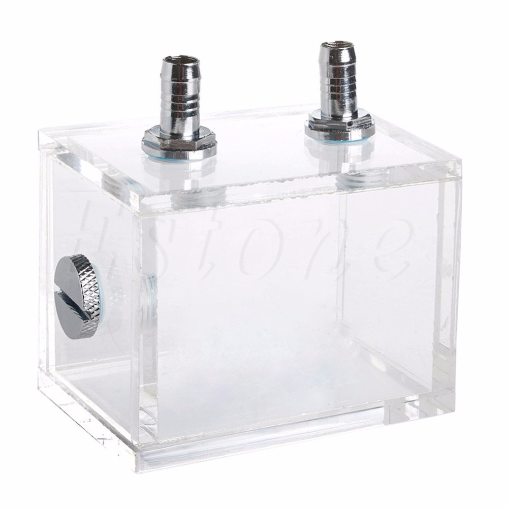 New 200ml Acrylic Liquid Water Cooled Brushless Pump Tank For CPU Water Cooling hot leopard water cooling device lb36wcj 40mm 3640 boat water cooled brushless motorfreeshipping