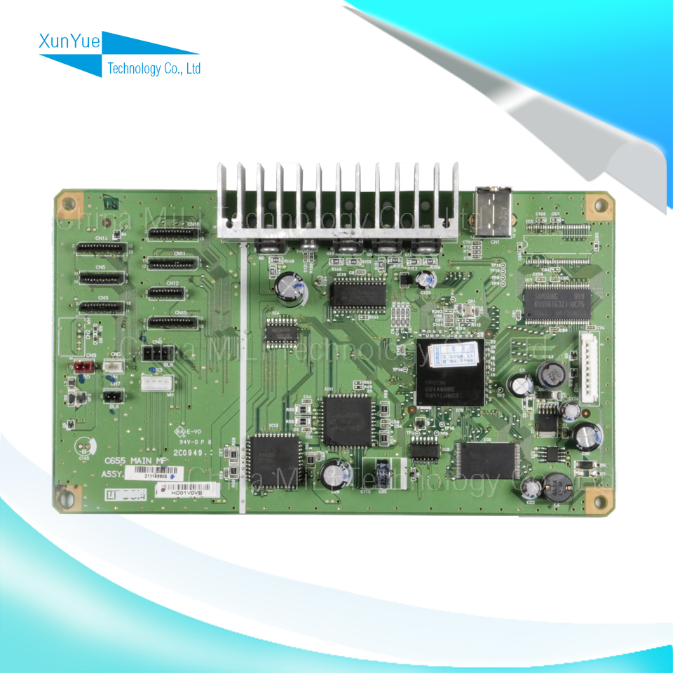ALZENIT For Epson R1410 1410 Original Used Formatter Board Printer Parts On Sale brand new inkjet printer spare parts konica 512 head board carriage board for sale