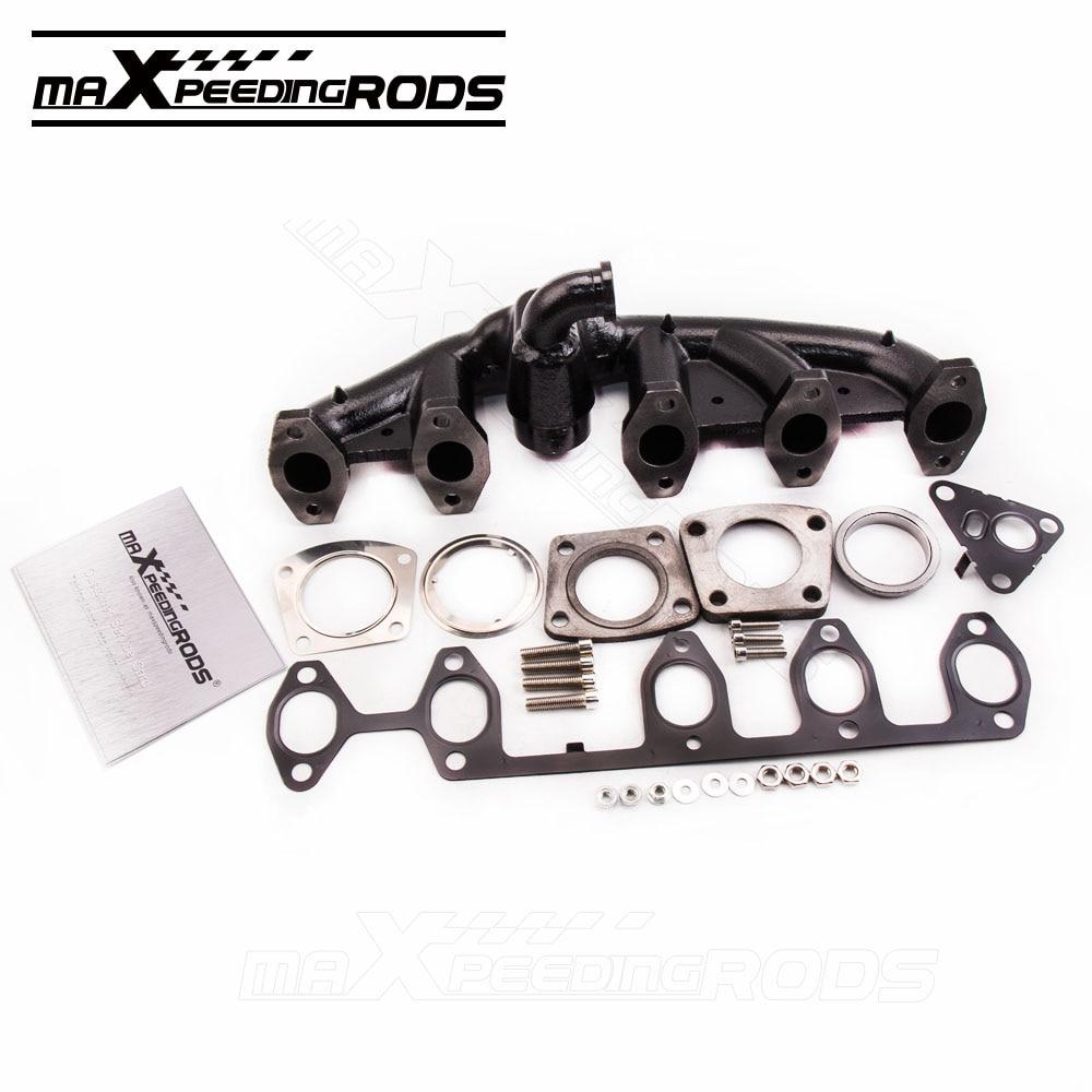 все цены на  Exhaust Manifold For VOLKSWAGEN VW TOUAREG 7L 02-10 2.5 R5 TDI Black 070253017A  онлайн