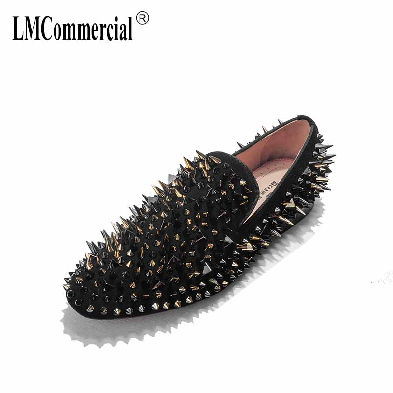 spring autumn summer Genuine leather shoes rivets all-match cowhide men's loafer shoes Driving shoes men soft casual shoes male vesonal driving brand genuine leather casual male shoes men footwear adult 2017 spring autumn comfortable soft driving for man