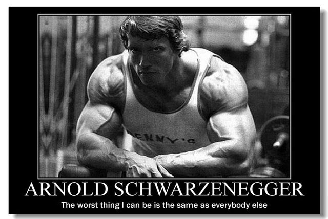 Good NICOLESHENTING Arnold Schwarzenegger Motivational Quotes Art Silk Poster  Bodybuilding Fitness Inspirational Pictures Wall Decor