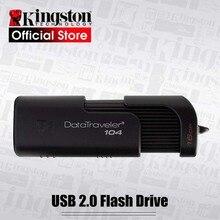 Kingston USB флеш-накопители USB 2,0 ручка-накопитель высокоскоростные флешки DT104 16 gb бизнес офисный автомобиль 16 GB USB флешка
