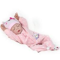 KAYDORA возродиться Малыша Кукла дешевые полное тело силиконовая кукла Reborn девушка Спящая Царевна игрушки Дети сном