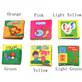 6Patterns Baby Toy Soft Cloth Books Rustle Sound Infant Educational Stroller Rattle Toy Newborn Crib Bed Baby Toys 0-36 month