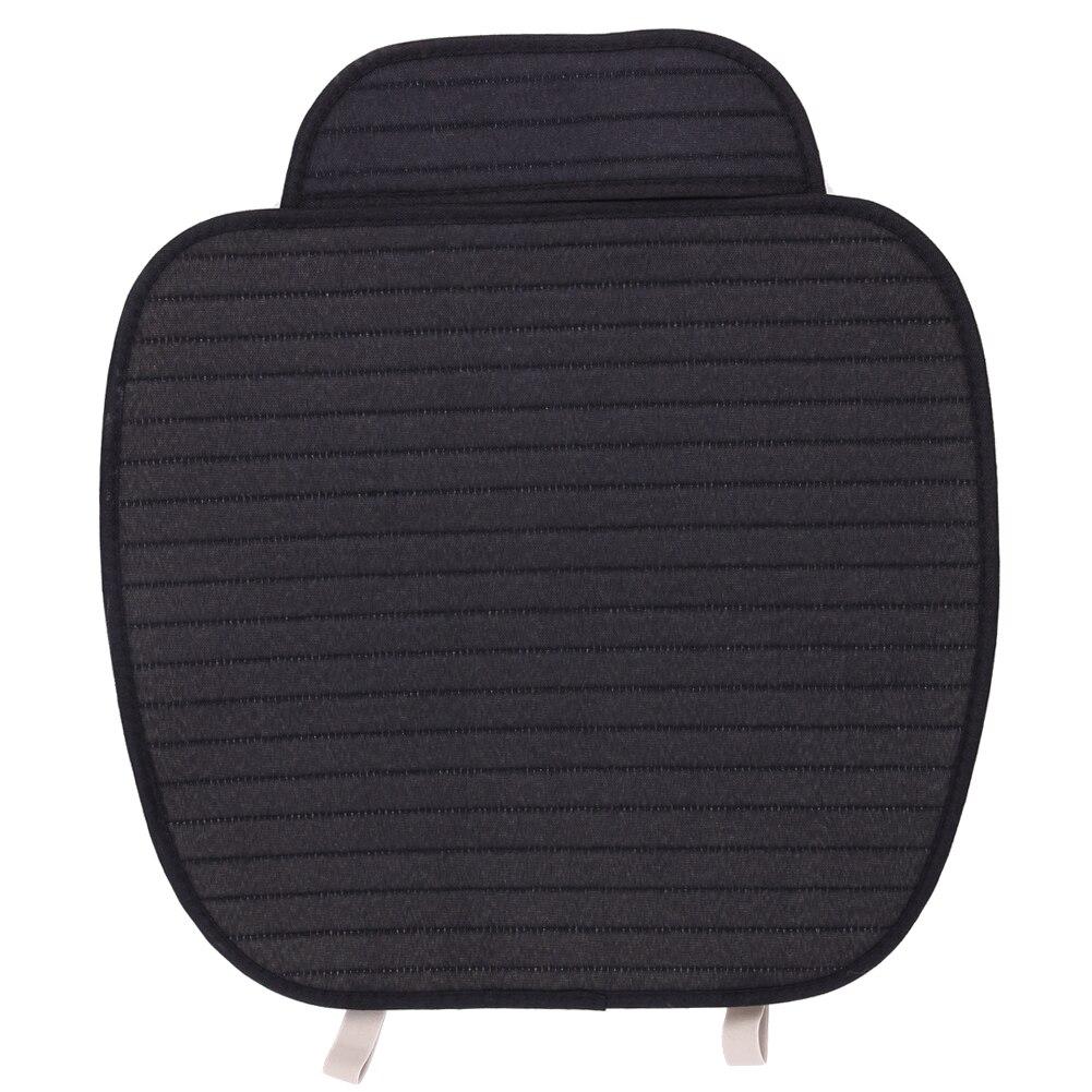Schwarz Flachs Auto Sitzkissen Abdeckung Atmungsaktiv Vorne Sitzbezüge Auto Styling Vier Jahreszeiten Voiture Matte Auto mithelfer