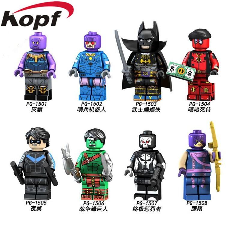 Model Building Active Single Sale Superhero Marvel Avengers Deadpool Weapon X Men Building Blocks Action Sets Model Bricks Toys For Children Toys & Hobbies