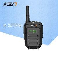 Walkie Talkie KSUN X 35TFSI 8W Handheld BaoFeng UHF 400 470MHz 128Channel LED Display Two Way Radio Portable CB
