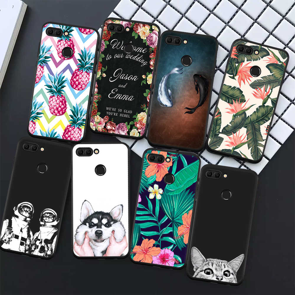 Soft TPU Phone Case For Huawei Enjoy 8 Plus Y9 2018 Mate 10 Pro P20 Lite Pro P8 P9 Lite 2017 Cover For Huawei Honor 9 8 Lite