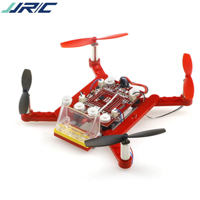 JJRC HJ-021 2.4G DIY assembled block four axis aircraft RC unmanned aerial vehicle manipulating remote control helicopter toys