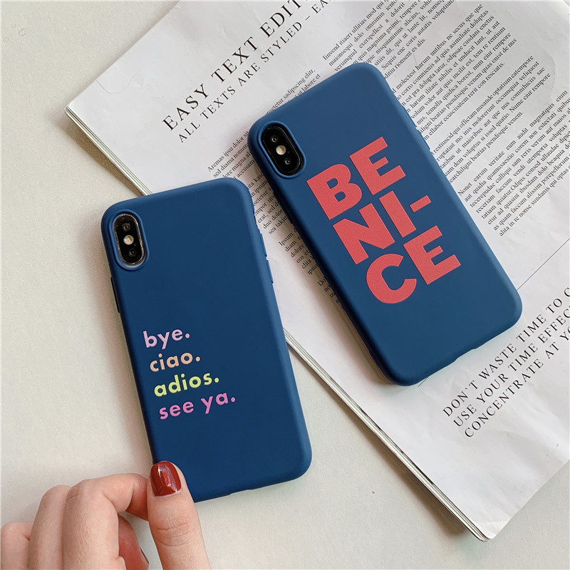 Be Nice Soft TPU  Case - Photo 2