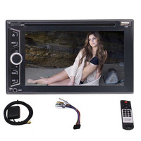 Rear Camera Eincar 6 2 Double Two Din Car GPS Player Wince Capacitive Touch Bluetooth FM