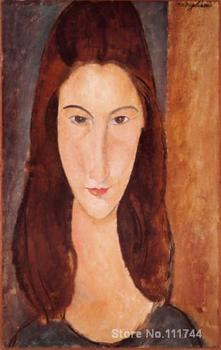 most popular paintings Portrait of Jeanne Hebuterne Amedeo Modigliani artwork High quality Hand painted image