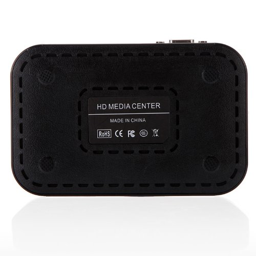 Full HD 1080 P Media Player Center RM/RMVB/AVI/MPEG Multi Media Video Player avec HDMI VGA AV USB SD/MMC Port de Télécommande