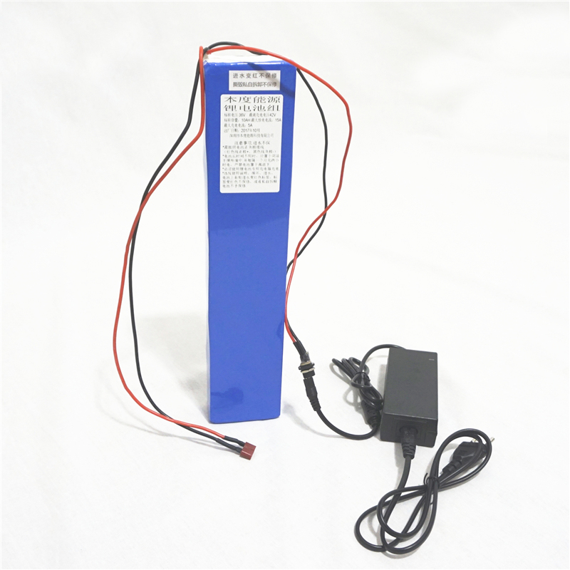 High quality 36V 10AH Lithium ion Li ion Rechargeable chargeable battery for electric bikes electric scooters