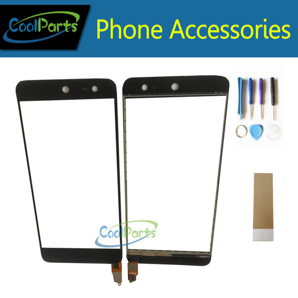 1PC/Lot High Quality For Wileyfox swift Touch Screen Digitizer Touch Panel Lens Glass With Tool&Tape Black Color