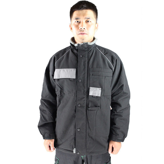 Safety Clothing Men Winter warm work clothing Multifunctional cold-resistant retardant overalls protective clothes workwear tops