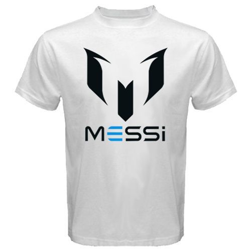 New Lionel Messi Logo Design For T Shirt Men 39 S Fans Tee