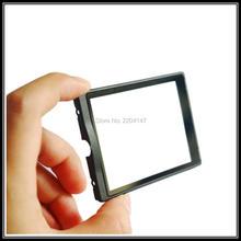 El Envío Gratuito! para Nikon D5100 LCD Protección de la pantalla externa, carcasa trasera de gran pantalla de vidrio de Reparación de Piezas de Cámara