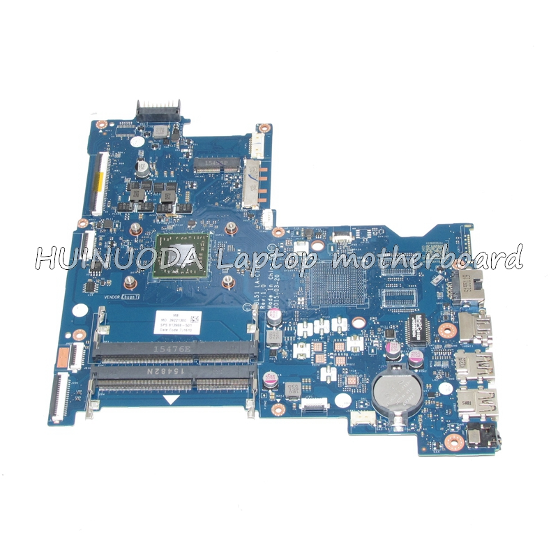 NOKOTION  813968-001 Laptop Mainboard For HP 15-AF ABL51 LA-C781P 813968-501 motherboard full test nokotion 813968 001 laptop mainboard for hp 15 af abl51 la c781p 813968 501 motherboard full test
