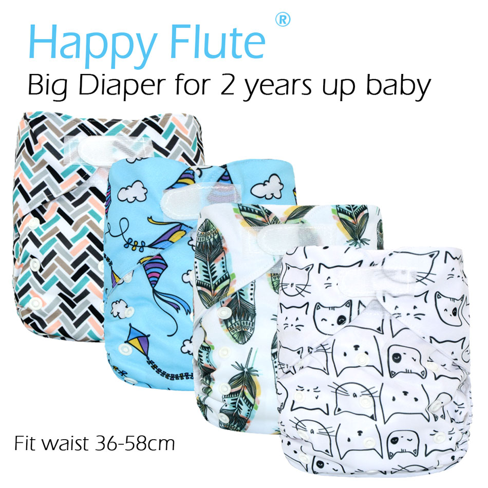 happyflute-big-xl-pocket-diaper-for-baby-2-years-and-oldersuedecloth-inner-stay-dry-size-adjustable-fits-waist-36-58cm